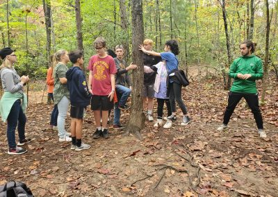 Fall Retreat Ropes Course 2